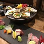 Hakatayoshiuo - 刺盛りと牡蠣