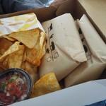 タコベル - チップスとサルサソース