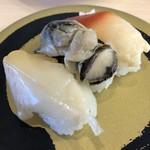 はま寿司 - 料理写真:貝3種盛