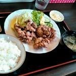 かずさん - 料理写真:鳥から揚げ定食