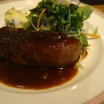 Daurade - 豚バラ肉のソテー バーベキューソース