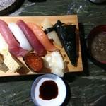 亀寿司 - 料理写真:にぎり上