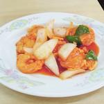 中華料理天鳳 - エビチリ