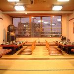 平和園 - ◆3階宴会場◆フロア全部宴会場となっております!最大56名様まで可能です◆