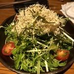 神鶏 - 水菜のはりはりサラダ