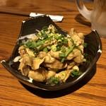 神鶏 - とり皮ポン酢