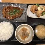 咲くら - 熟成黒豚のトンテキ&チキン南蛮1,000円