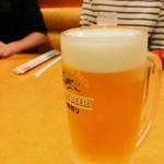 サイゼリヤ - 生ビール 麒麟一番搾り399円(税込)