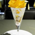 カフェコムサ - 宮崎県産 完熟マンゴーのパフェ
