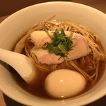 らぁ麺 はやし田 - 【2018.6.11】味玉醤油らぁ麺¥900