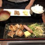 鳥牛 - ランチ友のチキンステーキ定食@800円