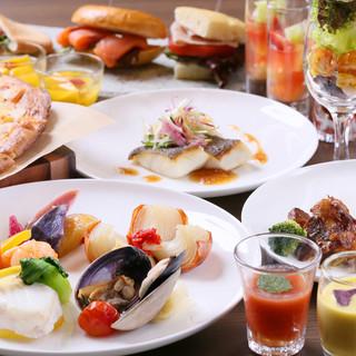 女性同士の会食に、上質な空間で北海道の食材を味わう幸せ
