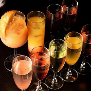 単品に150分飲み放題追加可能♪46酒類でお得に980円!