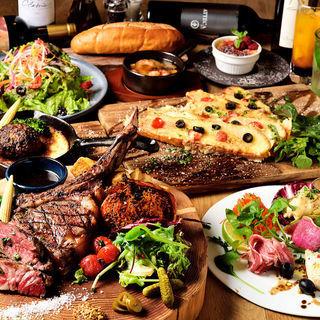 【コース】極上のステーキがメインのコースメニュー