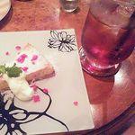 Kafesentoraru - はちみつレモンのチーズケーキ