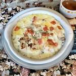 ぱんどら - 料理写真:シーフードドリア。