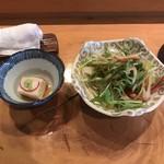 こころ庵 - 初めにサラダと小鉢!