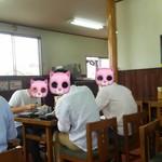 麺喰 - 学生猫が多い