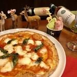 cervo bianco - 奈良県産の食材をふんだんに使用したピザ&ジェラート