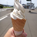 JAンビニANN・AN - じゅんさいソフトクリーム(ワッフルコーン:300円)