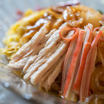 翡翠 - 雞肉絲(とりにくせん)、蟹蒲鉾(かにかまぼこ)