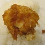 レストラン桂 - 帆立フライ(アップ)