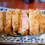 あんず  - 薩摩黒豚 とろロースかつ膳