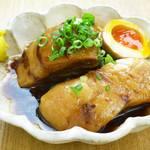地下のニューコマツ - 豚の角煮~煮卵付き~