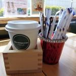 ササヤキコーヒー - ドリンク写真:コーヒーが枡に入ってきました