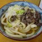 87587160 - 肉うどん(大)650円