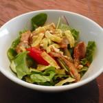 ヌーベルシノワ 玻璃 - 自家製チャーシューのサラダ