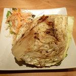 オーガニック カムー - 1/4キャベツ焼きサラダ