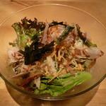 オーガニック カムー - 冷製豚しゃぶサラダパスタ