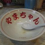 長浜屋台 やまちゃん - 完食(*^^)v