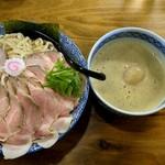 87592497 - 「特製Nつけ麺(特盛400g)」+「麺増量100g」+「チャーシュー増し」