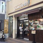 NOODLE CAFE SAMURAI - 店舗外観2018年6月