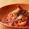 Scampi - 料理写真:ナスとベーコンのトマトソース