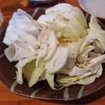 かわち乃酒場 新橋道場 - 塩だれキャベツ  330円