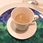 Restaurant Moliere - 牛蒡のスープ