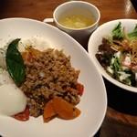 The World Kitchen - (ランチ)ガパオライス