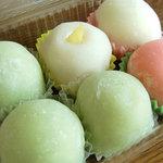 甘月堂 - 今回購入は桃太郎×3、苺生クリーム、マンゴー、パイナップル