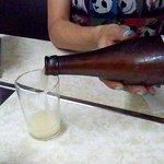 冨味屋 - 何故かビール瓶に入ってます。