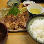 とり八 - 山椒焼定食