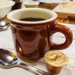 オールドスパゲティファクトリー - コーヒー(本日のおすすめランチ)