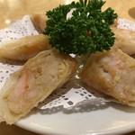 中華料理福臨門 - エビの紙包み揚げ