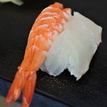亀すし - えび&たい
