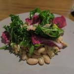 TABLE O TROIS - 牛ハチノスと白インゲンのサラダ仕立て