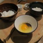 TABLE O TROIS - 土鍋ご飯 トリュフTKGで2