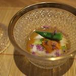祇園 にし - 細工見事なガラス食器にため息。