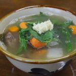 丸長食堂 - 料理写真:馬汁